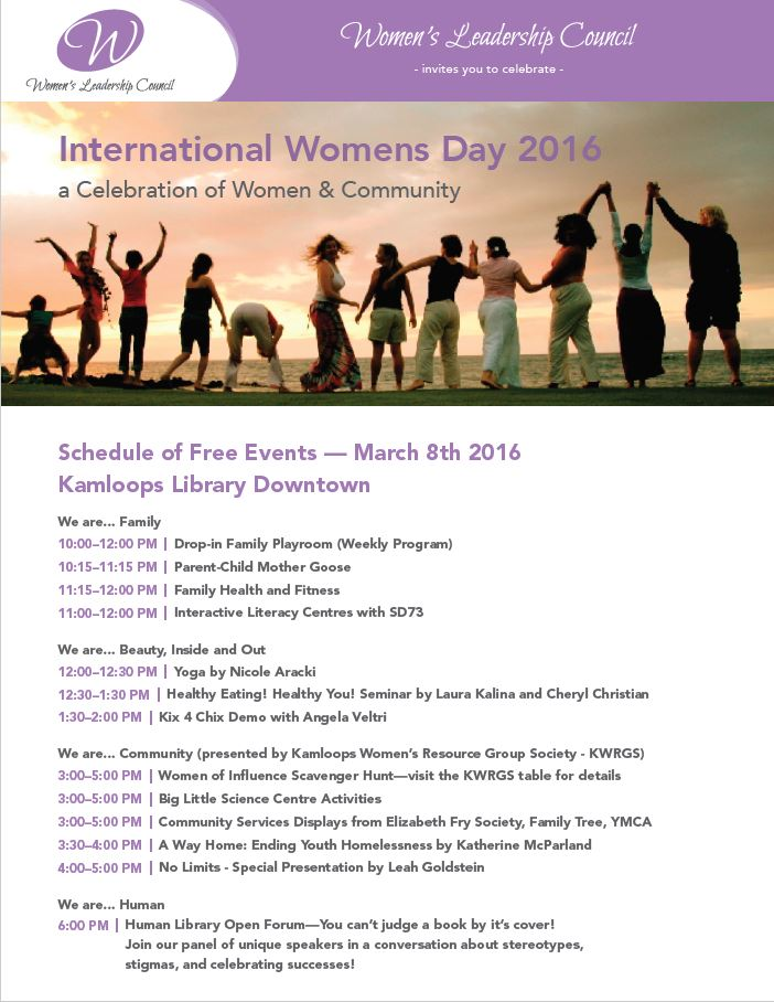 IWD Schedule of events - Final